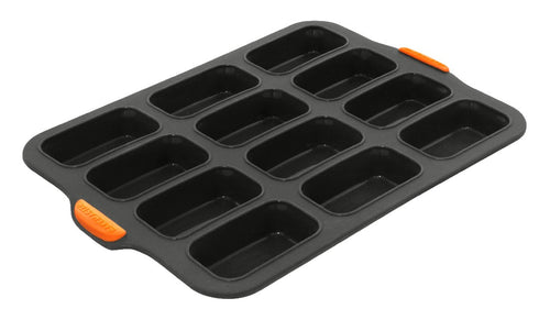 Bake Master 12 Cup Mini Loaf Pan 35.5x24.5cm - ZOES Kitchen
