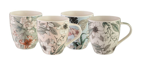 Bundanoon Mega Mug - Paradise Set Of 4 - ZOES Kitchen
