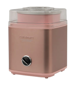 Cuisinart Ice Cream Maker 2lt - Rose Gold - ZOES Kitchen