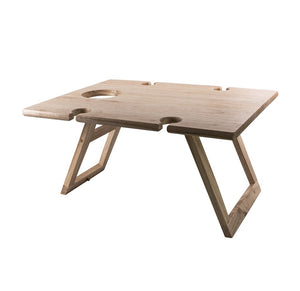 Peer Sorensen Folding Picnic/ Wine Table- Rubberwood 48x38cm - ZOES Kitchen