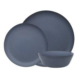 Ecology Malta Dinner Set 12pc - Denim