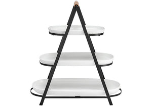 Ladelle Serve & Share Serving Tower - ZOES Kitchen