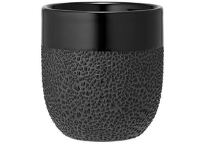 Ladelle Cafe Tumbler - Textured Black - ZOES Kitchen