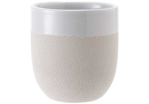 Ladelle Cafe Tumbler - Textured White - ZOES Kitchen