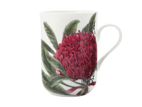Maxwell & Williams Royal Botanic Garden Mug Telopea 300ml Gb - ZoeKitchen