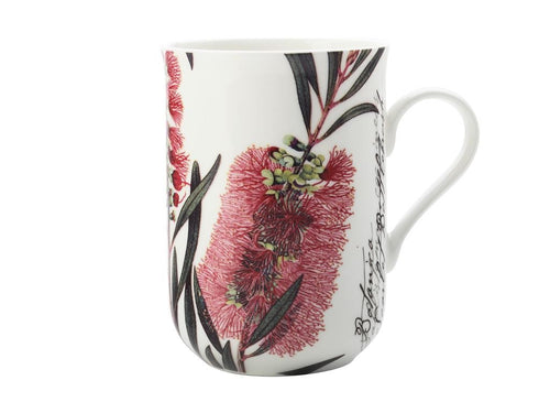 Maxwell & Williams Royal Botanic Garden Mug Bottle Brush 300ml Gb - ZoeKitchen