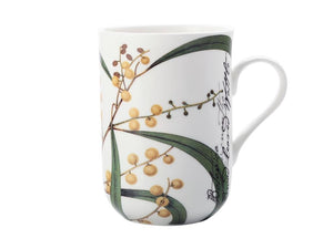 Maxwell & Williams Royal Botanic Garden Mug Wattle 300ml Gb - ZoeKitchen