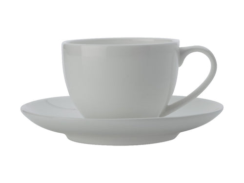 Maxwell & Williams Cashmere Rnd Demi Cup 100ml & Saucer - ZOES Kitchen