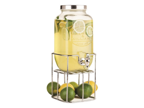 MAXWELL & WILLIAMS OLDE ENGLISH JUICE JAR & STAND 3.5L SIL GB - ZoeKitchen