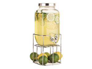 MW OLDE ENGLISH JUICE JAR & STAND 3.5L SIL GB