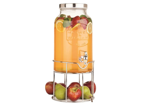 MW OLDE ENGLISH JUICE JAR & STAND 5.6L SIL GB
