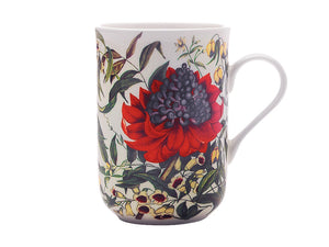 Maxwell & Williams Royal Botanic Garden Euphemia Henderson Mug 300ml Waratah Gift Boxed - ZoeKitchen