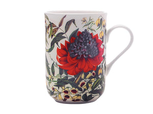 Maxwell & Williams Royal Botanic Garden Euphemia Henderson Mug 300ml Waratah Gift Boxed - ZOES Kitchen