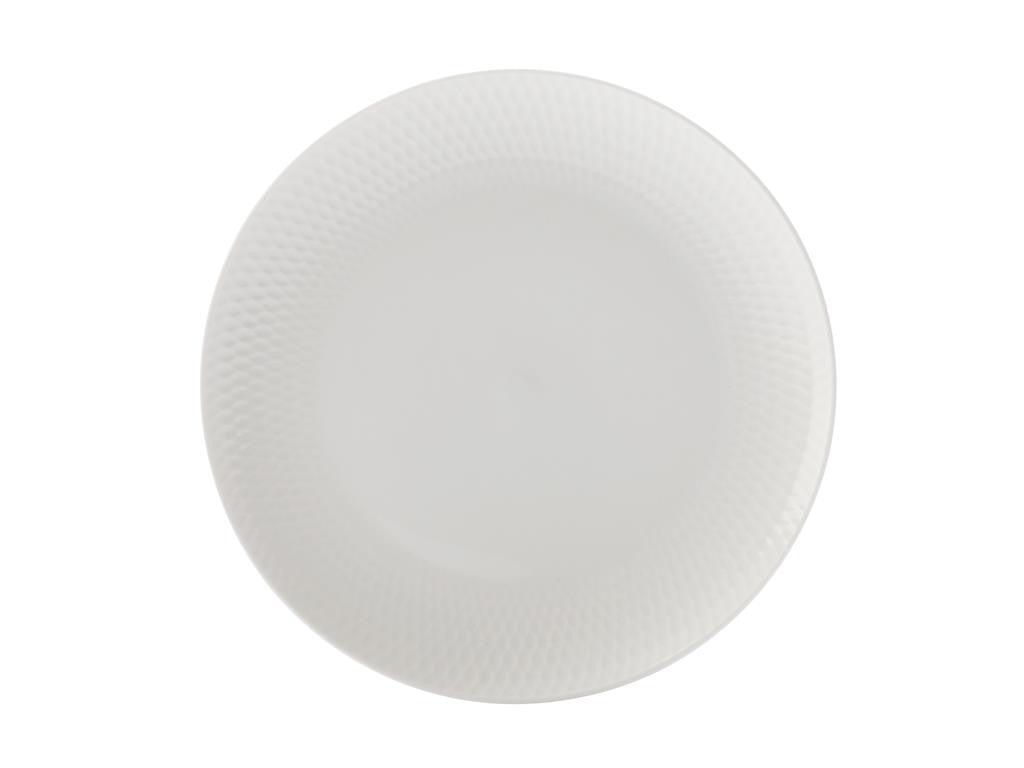 Maxwell & Williams White Basics Diamonds Side Plate 18cm - ZoeKitchen