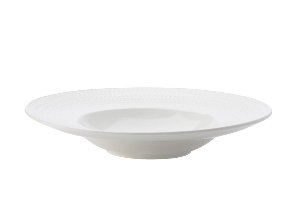Maxwell & Williams White Basics Diamonds Show Plate 30cm - ZoeKitchen