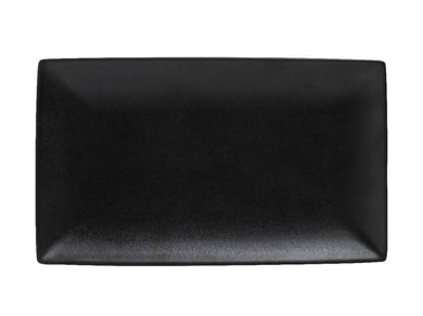 Maxwell & Williams Caviar Rectangle Platter 27.5x16cm Black - ZOES Kitchen