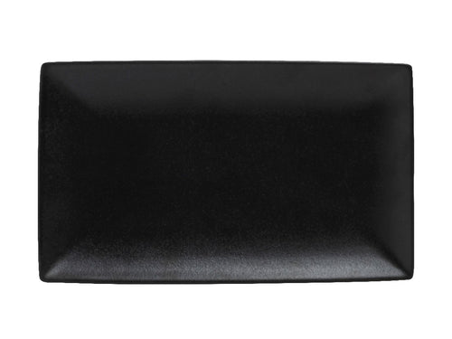 MW CAVIAR RECTANGLE PLATTER 34.5X19.5CM BLACK