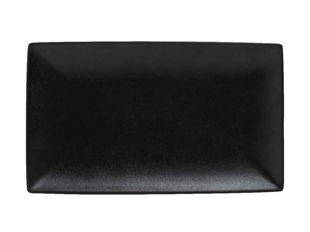 Maxwell & Williams Caviar Rectangle Platter 34.5x19.5cm Black - ZoeKitchen