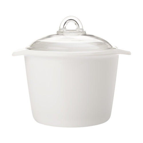 maxwell & williams vitromax round casserole 5l white - ZoeKitchen
