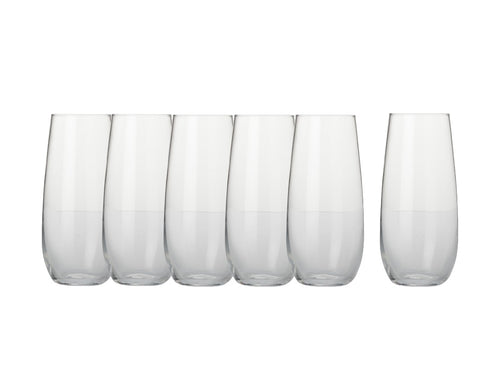 Maxwell & Williams Mansion Stemless Flute 230ml S6 Gb - ZOES Kitchen