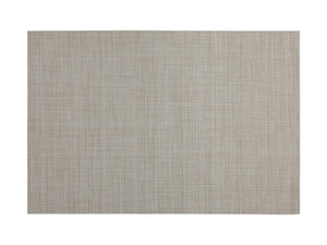 Maxwell & Williams Placemat Crosshatch 45x30cm Taupe - ZoeKitchen