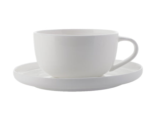 Maxwell & Williams Cashmere High Rim Demi Cup & Saucer 100ml - ZOES Kitchen