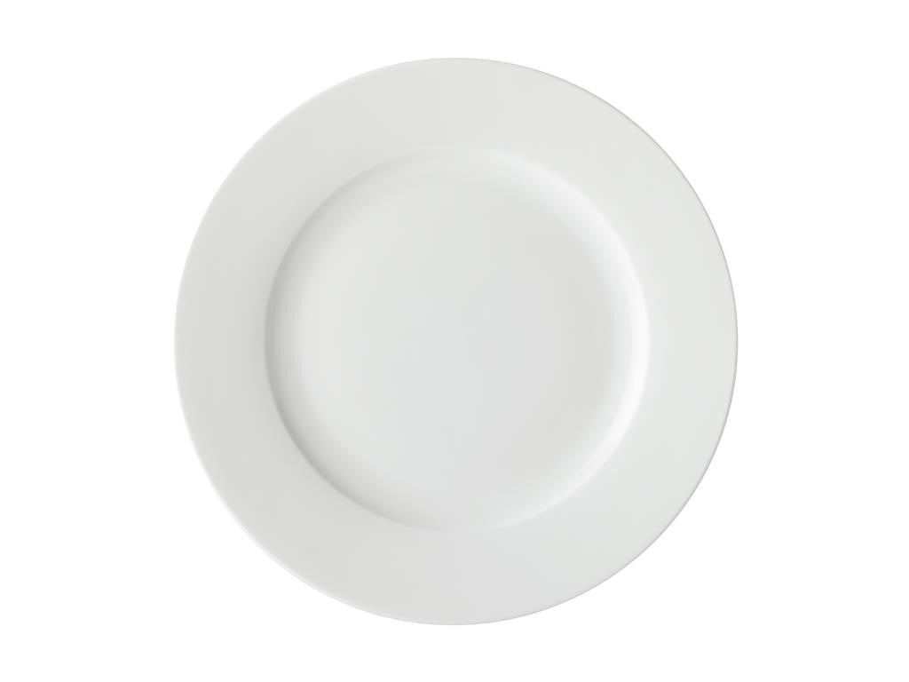 Maxwell & Williams White Basics Rim Dinner Plate 27.5cm - ZOES Kitchen