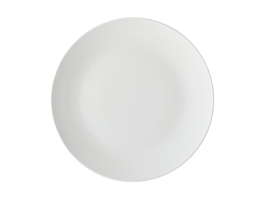 Maxwell & Williams White Basics Coupe Entree Plate 23cm - ZOES Kitchen