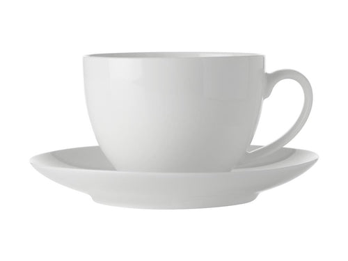 Maxwell & Williams White Basics Cup & Saucer 280ml - ZOES Kitchen