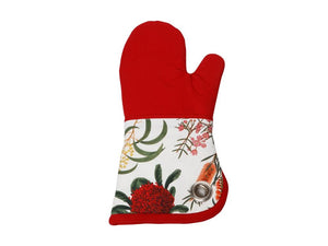 Maxwell & Williams Royal Botanic Garden Oven Glove Red - ZoeKitchen