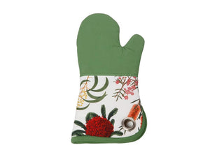 Maxwell & Williams Royal Botanic Garden Oven Glove Green - ZoeKitchen