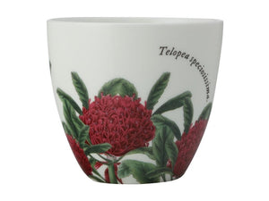 Maxwell & Williams Royal Botanic Garden Tealight Holder Telopea Gift Boxed - ZoeKitchen