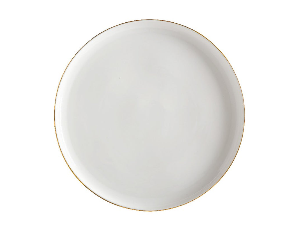 Maxwell & Williams Oro Round Platter 31cm Gift Boxed White - ZoeKitchen