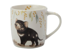 Maxwell & Williams Sally Howell Mug 340ml Tasmanian Devil Tin Gift Boxed - ZoeKitchen