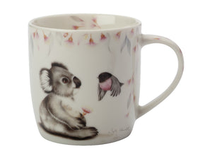 Maxwell & Williams Sally Howell Mug 340ml Koala Robin Tin Gift Boxed - ZOES Kitchen