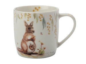 Maxwell & Williams Sally Howell Mug 340ml Kangaroo Joey Tin Gift Boxed - ZOES Kitchen