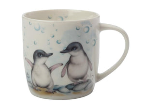 Maxwell & Williams Sally Howell Mug 340ml Penguins Tin Gift Boxed - ZoeKitchen
