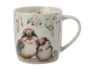 Maxwell & Williams Sally Howell Mug 340ml Kookaburras Tin Gift Boxed - ZOES Kitchen