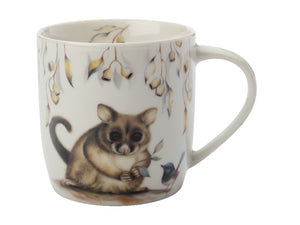 Maxwell & Williams Sally Howell Mug 340ml Brushtail Possum Wren Tin Gift Boxed - ZOES Kitchen