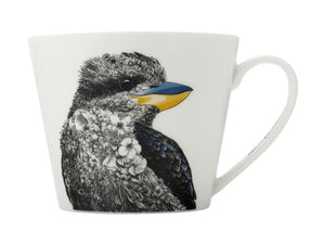 MAXWELL & WILLIAMS MARINI FERLAZZO BIRDS MUG 450ML SQT KOOKABURRA GIFT BOXED - ZoeKitchen