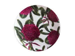 Maxwell & Williams Royal Botanic Garden Plate 20cm Telopea Gift Boxed - ZoeKitchen