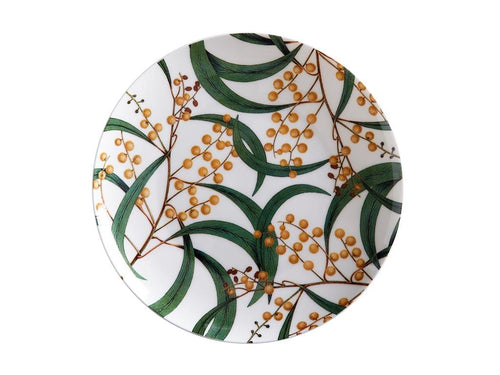 Maxwell & Williams Royal Botanic Garden Plate 20cm Wattle Gift Boxed - ZoeKitchen