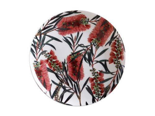 Maxwell & Williams Royal Botanic Garden Plate 20cm Bottlebrush Gift Boxed - ZoeKitchen