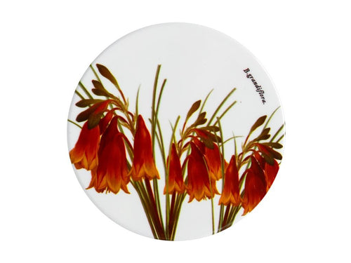 Maxwell & Williams Royal Botanic Garden Ceramic Round Coaster 9.5cm Christmas Bells - ZoeKitchen
