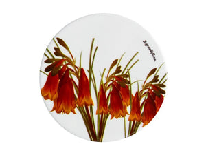 Maxwell & Williams Royal Botanic Garden Ceramic Round Coaster 9.5cm Christmas Bells - ZOES Kitchen