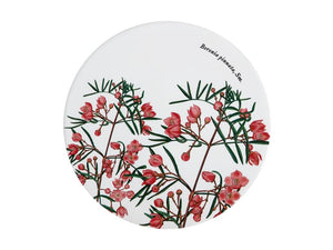 Maxwell & Williams Royal Botanic Garden Ceramic Round Trivet 20cm Boronia - ZoeKitchen