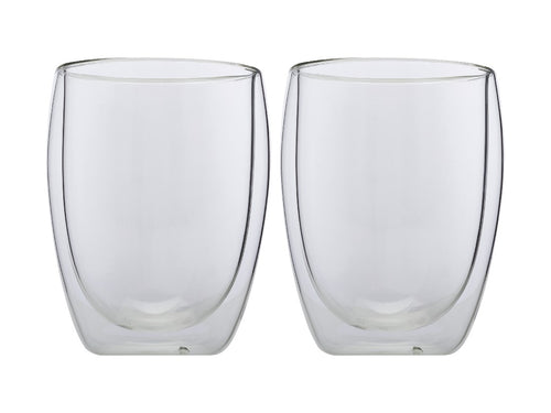 Maxwell & Williams Blend Double Wall Cup 350ml Set Of 2 Gift Boxed - ZoeKitchen