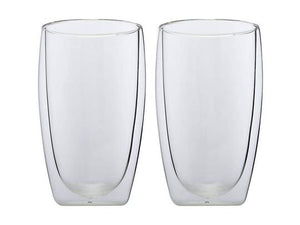 maxwell & williams blend double wall cup 450ml set of 2 gift boxed - ZoeKitchen