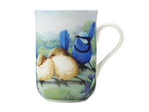 Maxwell & Williams Birds Of Australia Kc 10yr Anniversary Mug 300ml Splendid Fairy Wren Gift Boxed - ZOES Kitchen