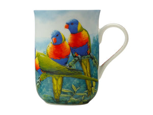 Maxwell & Williams Birds Of Australia Kc 10yr Anniversary Mug 300ml Lorikeet Gift Boxed - ZOES Kitchen